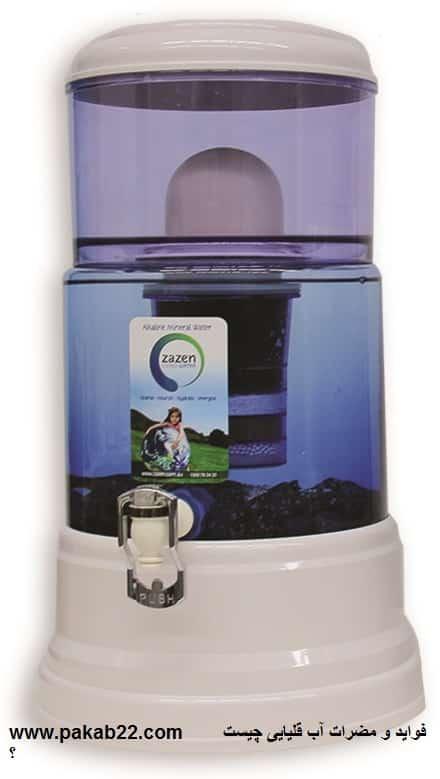 فوايد و مضرات آب قليايي چيست ؟